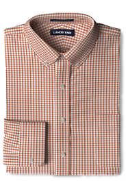 Men's Traditional Fit No Iron Supima Pinpoint Comfort Collar Shirt