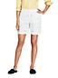 Bermuda Chino Brodé Taille Mi-Haute, Femme Stature Standard