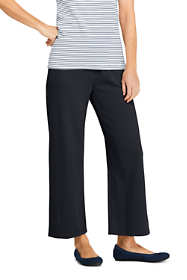 Women's Sport Knit Wide Leg Crop Pants