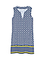 Robe de Plage à Motifs Sans Manches en Coton, Femme Stature Standard