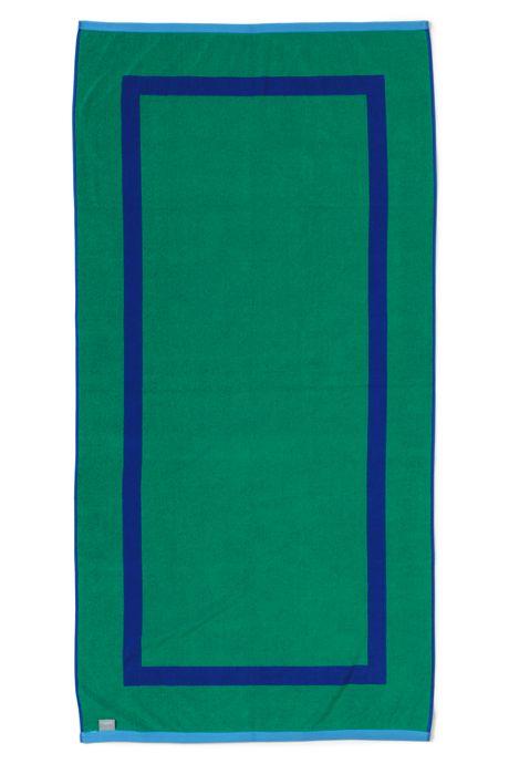 School Uniform Adult Solid Reversible Beach Towel