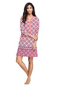 8d03293bc9387 Women s Swim Cover-up Tunic Dress with UV Protection Print