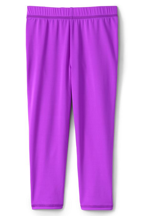 Little Girls Swim Capri Pants