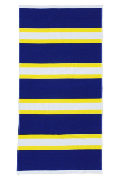 School Uniform Rugby Stripe Sport Beach Towel