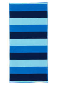 School Uniform Rugby Field Stripe Beach Towel