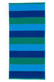 Rugby Field Stripe Beach Towel
