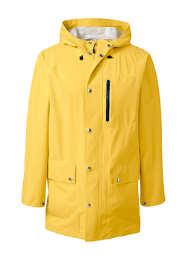 Men's Tall Waterproof Rain Slicker Jacket