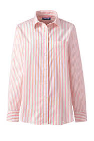 Women's Petite Oxford Boyfriend Stripe Shirt