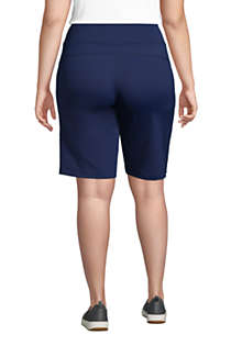 Women's Plus Size Active Relaxed Shorts, Back