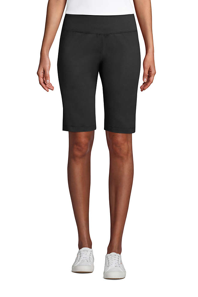 Women's Petite Active Relaxed Shorts, Front