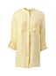 Women's Roll Sleeve Linen Tunic
