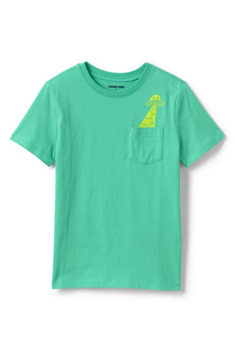 Little Boys Pocket Graphic T Shirt