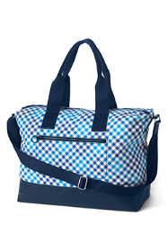 Print Canvas Weekender Duffle Bag