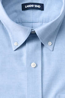 Men's Traditional Fit No Iron Oxford Shirt with Stretch, alternative image
