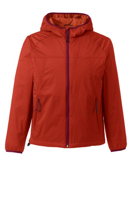 Men's Tall Stretch Packable Primaloft Insulated Hooded Jacket