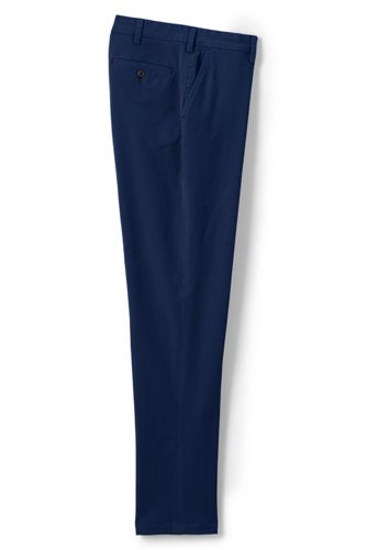 Pantalon Chino Super Stretch Ourlets Sur Mesure, Homme Stature Standard