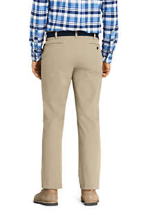 Men's Traditional Fit 4 Way Stretch Knockabout Chino Pants, Back