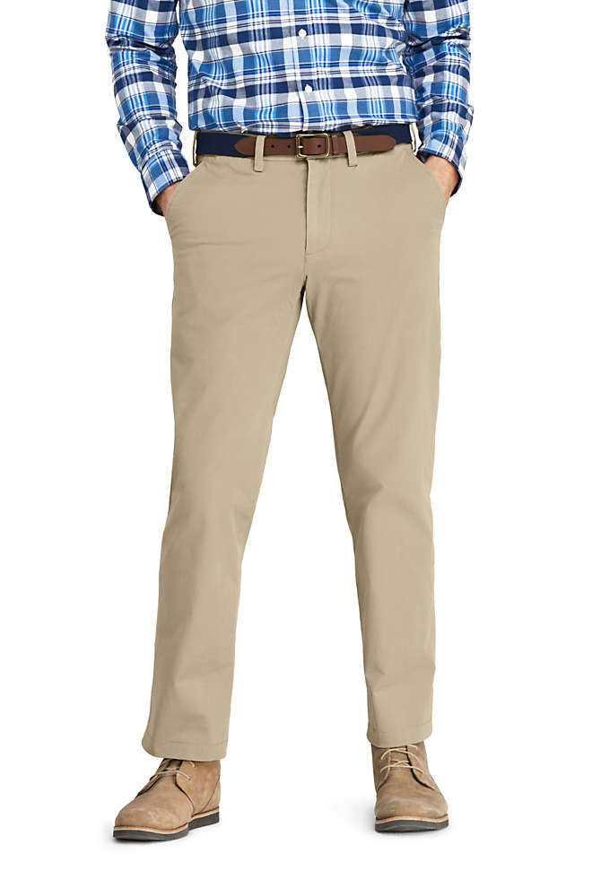 Men's Traditional Fit 4 Way Stretch Knockabout Chino Pants, Front