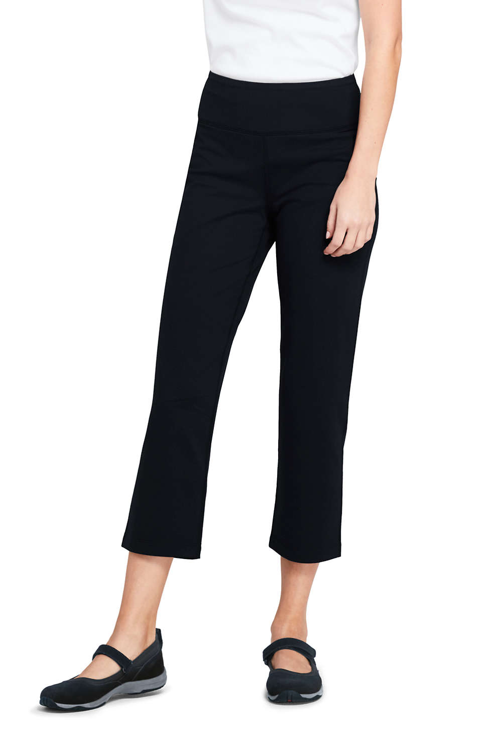 78389219f626 Women s Active Capri Yoga Pants from Lands  End