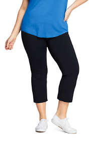 Women's Plus Size Active Capri Yoga Pants