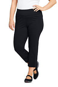 317449ff173dea Plus Size Capri Pants & Plus Size Crop Pants | Lands' End
