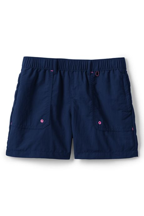 Girls Plus Size Quick Dry Shorts