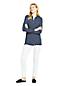 Chemise Longue Rayée en Jersey Stretch, Femme Stature Standard
