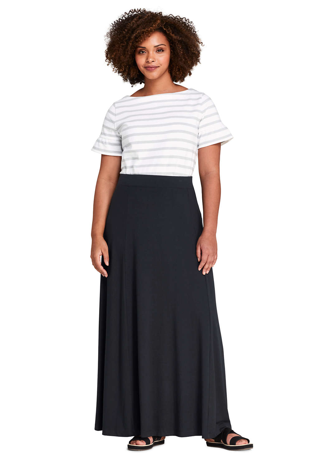 e475379d6 Women's Plus Size Maxi Skirt from Lands' End