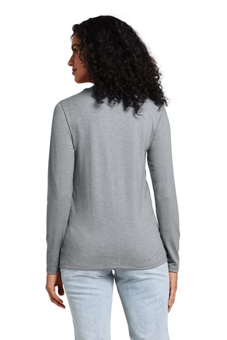 Women's Tall Long Sleeve UPF Wicking T-shirt