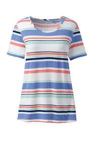 Women's Plus Size Power Performance Short Sleeve T-shirt - Print