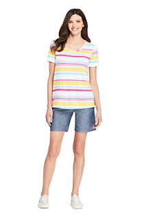 Women's Tall Short Sleeve UPF Wicking T-shirt - Print, Unknown