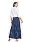 Women's Striped Jersey Maxi Skirt
