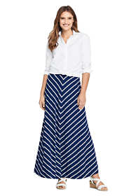 Women's Tall Stripe Maxi Skirt
