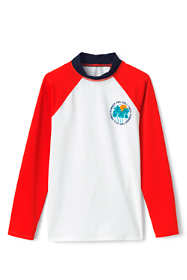 Little Boys Raglan Graphic Rash Guard