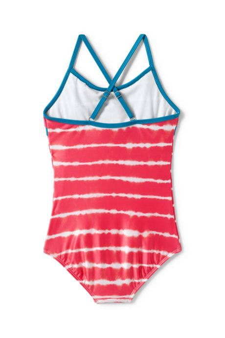 Little Girls Ruffle One Piece Swimsuit