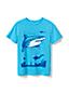 T-Shirt Graphique à Motifs Fun, Tout Petit Garçon