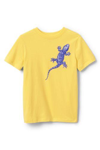 T-Shirt Graphique qui Change au Soleil, Petit Garçon