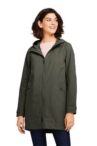 Imperméable Stretch à Capuche, Femme Stature Standard