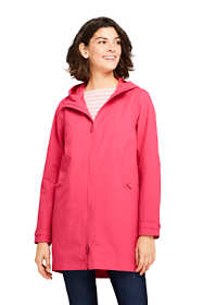 Women's Petite Stretch Waterproof Raincoat