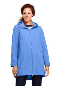 Women's Plus Size Stretch Waterproof Raincoat