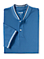 Polo Piqué Stretch Col Montant, Homme Stature Standard
