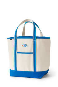 Ombre Handle Large Open Top Tote Bag