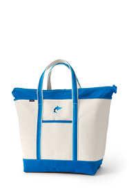 Ombre Handle X-Large Zip Top Tote Bag