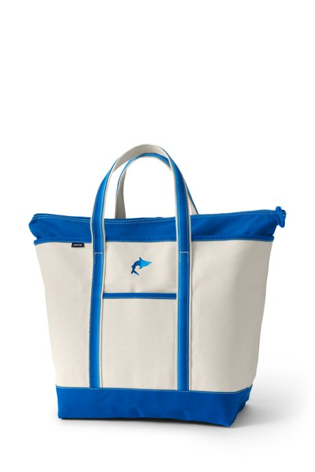 Ombre Handle X-Large Zip Top Tote Bag