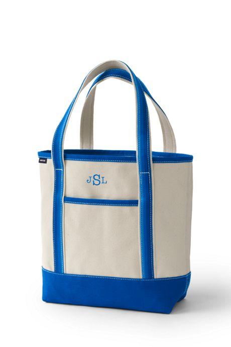 Ombre Handle Medium Open Top Tote Bag