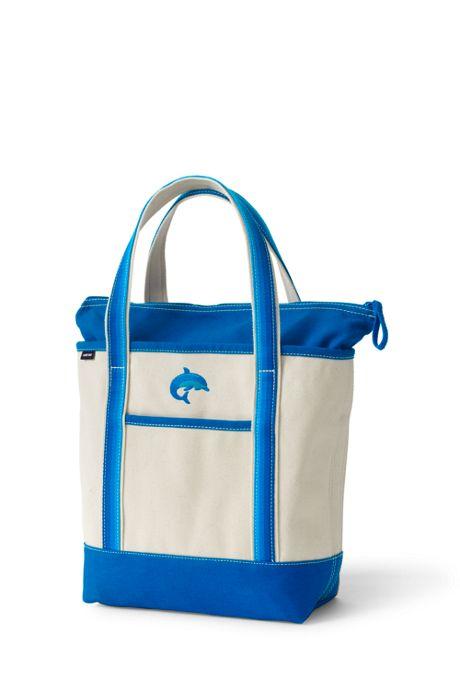 Ombre Handle Medium Zip Top Tote Bag