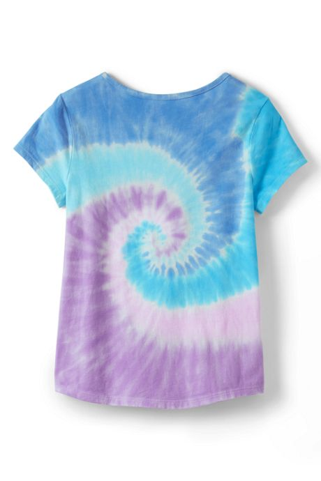 Toddler Girls Tie Dye Tee