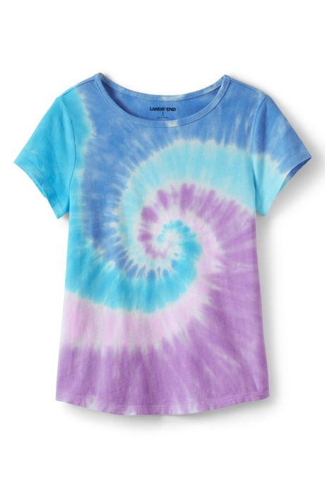 Girls Plus Size Tie Dye Tee