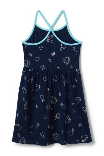 Girls Strappy Tank Dress