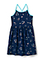 Girls' Strappy Foil Print Dress